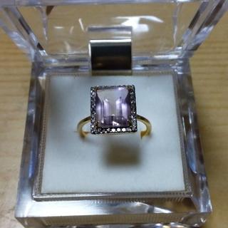 uri様お取り置き&専用ARTIDA OUD アメトリンパヴェダイヤモンドリング(リング(指輪))