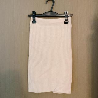 snidel - 美品  スナイデル  カシミヤリブニットスカート