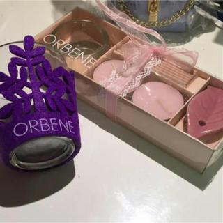 オルベネ(ORBENE)のキャンドルセット (アロマ/キャンドル)