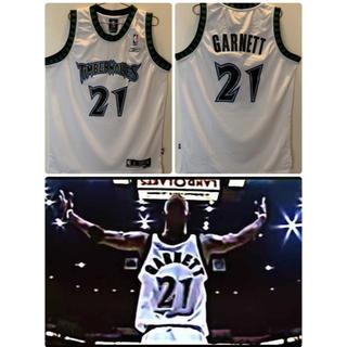 リーボック(Reebok)のスウィングマンジャージ NBA  ティンバーウルブズ  ケビン・ガーネット(バスケットボール)