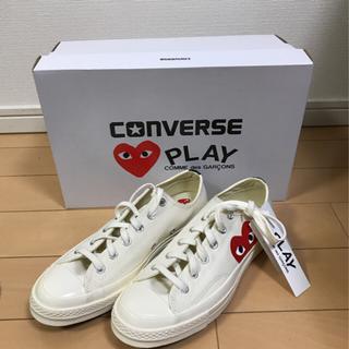 コムデギャルソン(COMME des GARCONS)の【新品未着用】COMME des GARCONS PLAY × Converse(スニーカー)