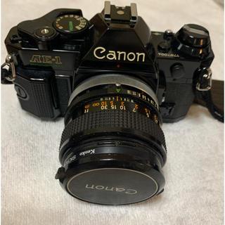 キヤノン(Canon)のcanon AE1-Program,  FD50mm f1.4(フィルムカメラ)