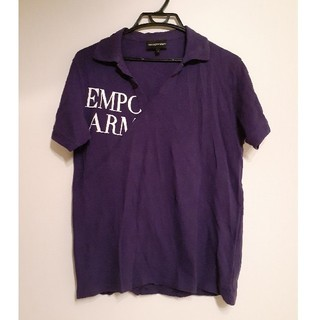 Emporio Armani - EMPORIO ARMANIポロシャツ半袖Tシャツ アルマーニロゴ メンズ