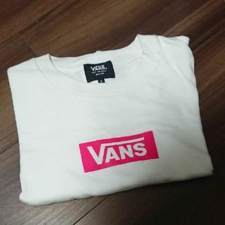 VANS - VANS Tシャツ ボックスロゴ ピンク ストリート