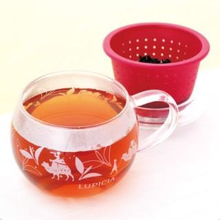 LUPICIA - LUPICIA MC021 茶こしマグ モンポット・ラズベリー