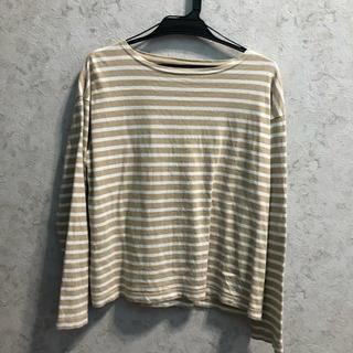 コーエン(coen)のcoenボーダーTシャツ(Tシャツ(長袖/七分))