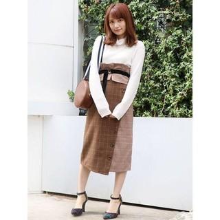 ダズリン(dazzlin)の2way♡パッチワークチェックスカート(ロングスカート)