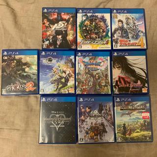 PlayStation4 - PS4 ソフトまとめ売り 10本