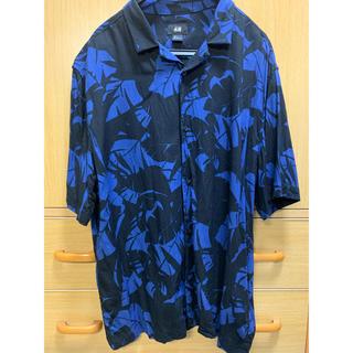 エイチアンドエム(H&M)のH&M オープンカラーアロハシャツ(シャツ)