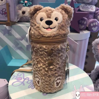 ダッフィー - 上海ディズニー ダッフィー保温水筒 ステンレスボトルとカバーセット ショルダー