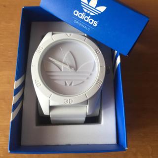 アディダス(adidas)のadidas♡白×白時計 (腕時計)
