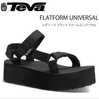 テバ(Teva)のTEVA テバ 厚底 フラットフォーム ユニバーサル(サンダル)