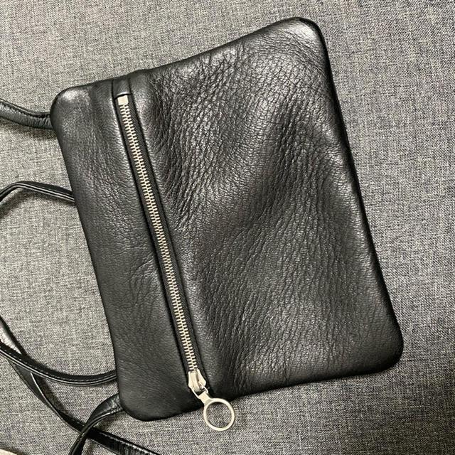 Maison Martin Margiela(マルタンマルジェラ)の黒 ブラック  レディースのバッグ(ショルダーバッグ)の商品写真