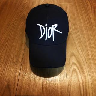 ディオール(Dior)のDIOR × SHAWN STUSSY キャップ ディオール ステューシー 帽子(キャップ)