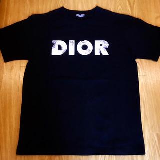 Dior - DIOR 黒 ダニエルアーシャム ディオール ロゴ Tシャツ ブラック
