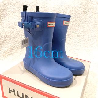 ハンター(HUNTER)の新品・未使用 HUNTER キッズ レインブーツ 16cm(長靴/レインシューズ)