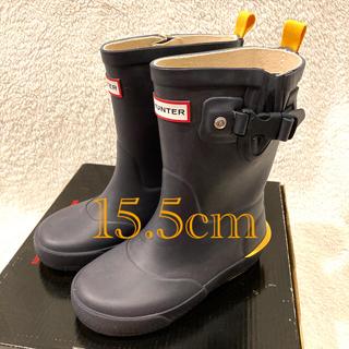 ハンター(HUNTER)の新品・未使用 HUNTER キッズ レインブーツ 15.5cm(長靴/レインシューズ)