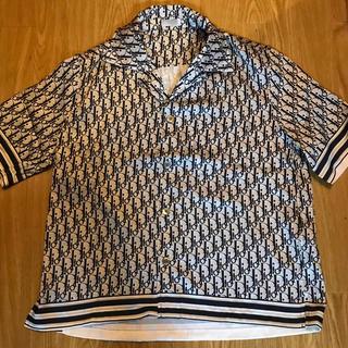 Dior - DIOR シルク オブリーク 半袖シャツ ディオール リアルシルク