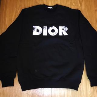 Dior - DIOR スウェット ダニエルアーシャム ディオール ロゴ ブラック 黒