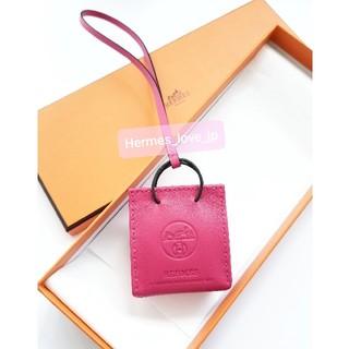 Hermes - 新品☆エルメスショッパーチャーム ローズメキシコ