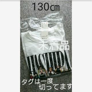130センチ【人気】鬼滅の刃×ユニクロ 柱 Tシャツ 130 キッズ