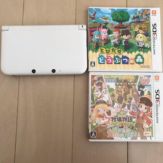 3DS LL +ソフト2本