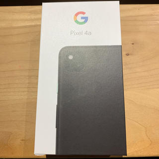 ANDROID - Pixel4a justblack 128GB
