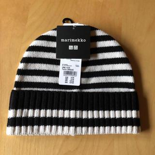 マリメッコ(marimekko)の海外ユニクロ限定 マリメッココラボニット帽(ニット帽/ビーニー)