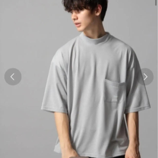 ハレ(HARE)のカノコモックネックカットソー(Tシャツ/カットソー(半袖/袖なし))