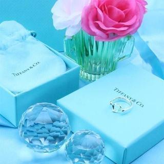 ティファニー(Tiffany & Co.)の☆新品☆未使用☆ティファニー センターオープンハートリング9号(リング(指輪))