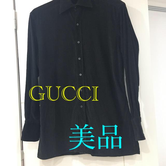 Gucci(グッチ)の【最終処分値下げ】GUCCI グッチ シャツ コーデュロイ 秋冬 メンズのトップス(シャツ)の商品写真