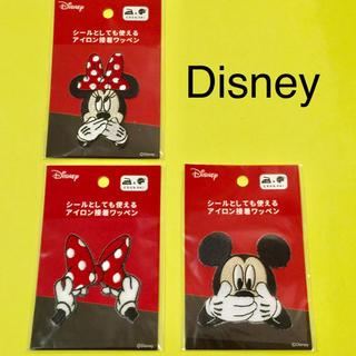 Disney - 【Disney】ディズニー  アップリケ3個セット❤︎