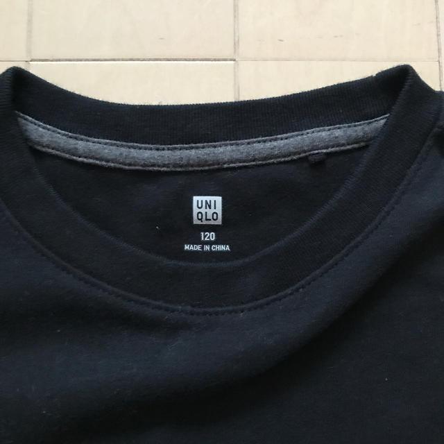 UNIQLO(ユニクロ)のユニクロ 長袖Tシャツ 120cm キッズ/ベビー/マタニティのキッズ服男の子用(90cm~)(Tシャツ/カットソー)の商品写真