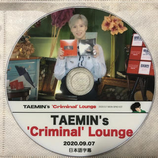 シャイニー(SHINee)のSHINee テミン  DVD (K-POP/アジア)