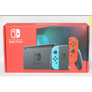 Nintendo Switch - 新品未開封 任天堂Switch ネオンレッド