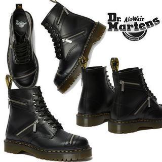 Dr.Martens - 【新品】Dr.Martens 1460 BEX ZIP UK4 厚底 8ホール