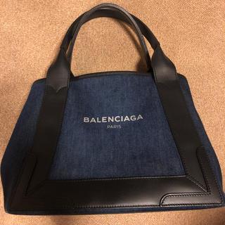 バレンシアガ(Balenciaga)のバレンシアガ ネイビーカバ トートバッグ(トートバッグ)