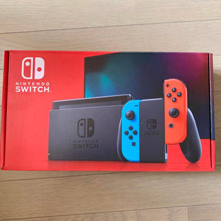 Nintendo Switch - Nintendo switch 本体 ネオンブルー ネオンレッド