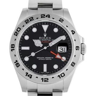 エクスプローラー2 ブラック 新品 メンズ 腕時計
