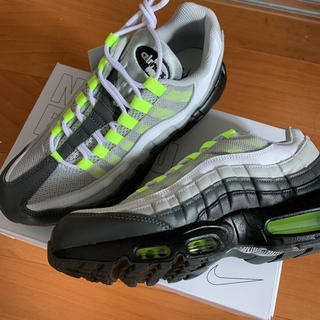 NIKE - ●【新品未使用】NIKE By You AIRMAX95 イエローグラデ