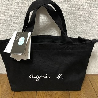 アニエスベー(agnes b.)の【Agnes b】★トートバック★アニエスベー★ブラックS(トートバッグ)
