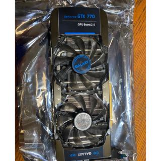 ギャラクシー(Galaxy)の GALAXY GTX770 4gb (オーバークロックモデル) (PCパーツ)