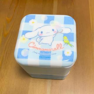 サンリオ(サンリオ)の【新品】シナモロール 2段ランチケース 食洗機OK!!(食器)