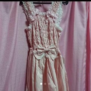 ベイビーザスターズシャインブライト(BABY,THE STARS SHINE BRIGHT)のシャーリングプリンセス ジャンパースカート(ひざ丈スカート)