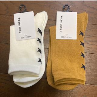 コンバース(CONVERSE)のconverse 靴下2足セット(ソックス)
