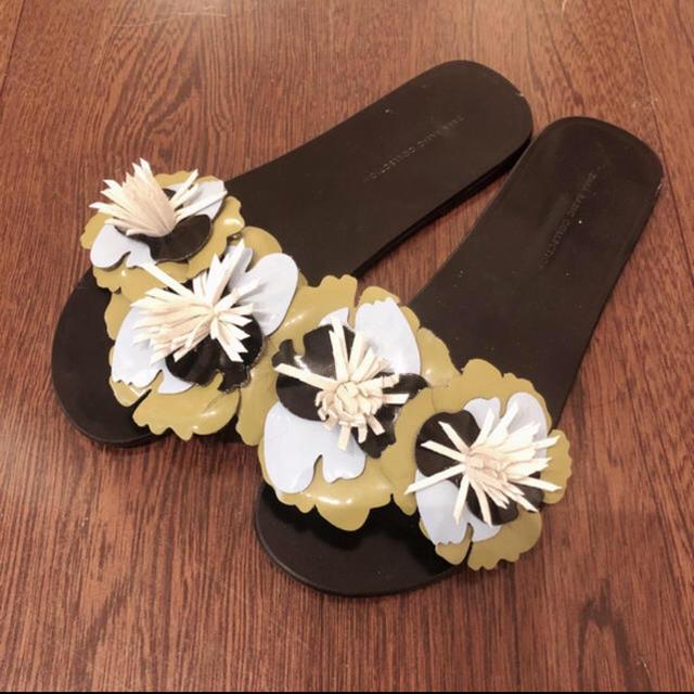 ZARA(ザラ)のzaraスリッパ レディースの靴/シューズ(サンダル)の商品写真