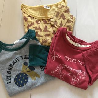 サマンサモスモス(SM2)のサマンサモスモス ロンT 長袖Tシャツ 3枚セット 90 95(Tシャツ/カットソー)