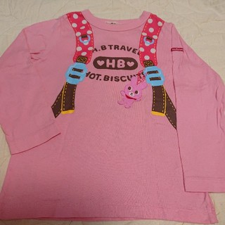 HOT BISCUITS - ホットビスケッツ  リュックプリント☆長袖Tシャツ  110
