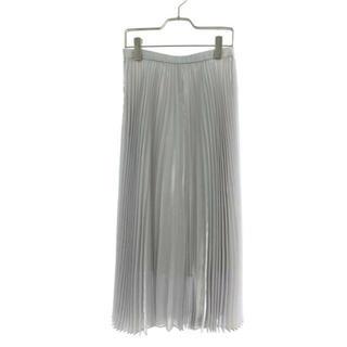 ルシェルブルー(LE CIEL BLEU)の今月末まで 値下げ 新品 試着のみ プリーツスカート(ロングスカート)