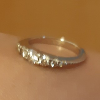ティファニー(Tiffany & Co.)のカシケイ 本物 k18 リング 0.35ct ユーズド(リング(指輪))